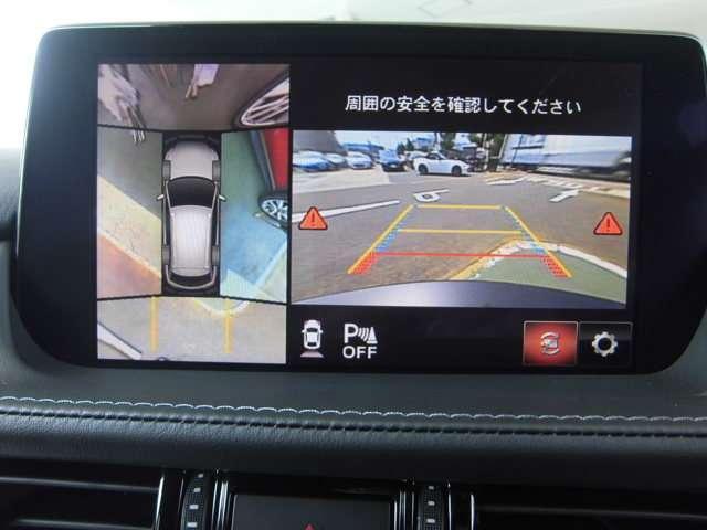バックカメラ付き車体の全長も長く後退時にも分かりにくい場所をバックカメラでしっかりサポートしてくれます、駐車時での必需品です