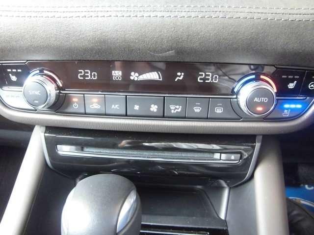車内快適フルオートエアコン付きです。左右独立して温度調整が可能です。エアコンフィルター搭載で花粉やPMなどの有害物質が入らす年中快適です