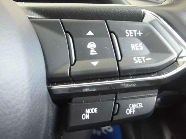 高速道路や一般道などで使用可能なクルーズコントロール機能も装備しています。ロングドライブでも疲れを軽減させてくれます。