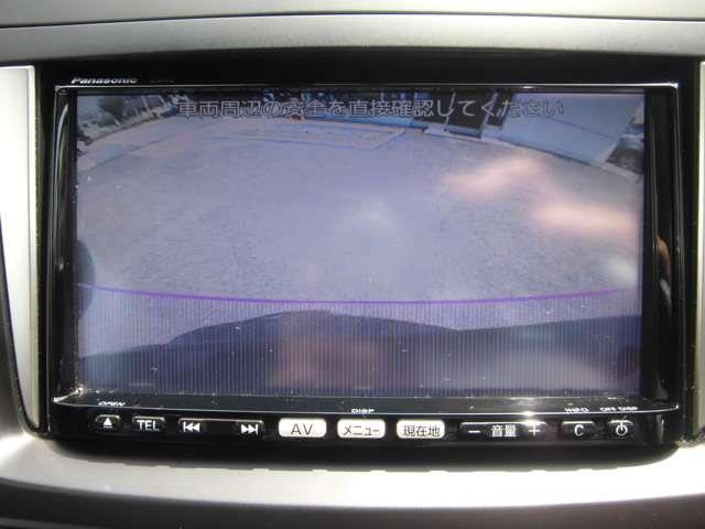 駐車時の後方確認も安心な、バックカメラも装備しています。