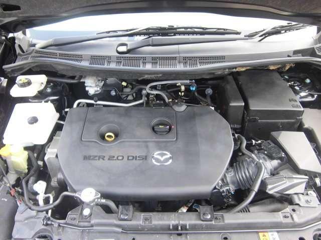 パワーと燃費も両立した、2.0L DISI直噴エンジン!