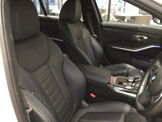 320d xDrive Mスポーツ デビューパッケージ 19インチアルミホイール ブラックレザーシート フロントシートヒーター 弊社デモカー車両 電動トランク(59枚目)