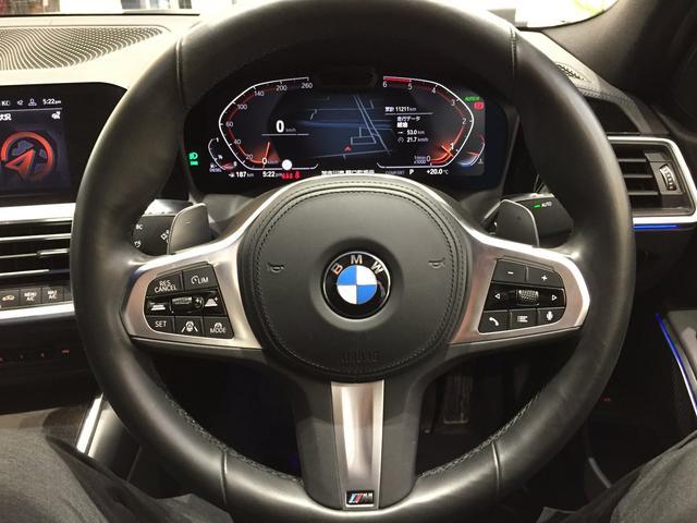 320d xDrive Mスポーツ デビューパッケージ 19インチアルミホイール ブラックレザーシート フロントシートヒーター 弊社デモカー車両 電動トランク(63枚目)