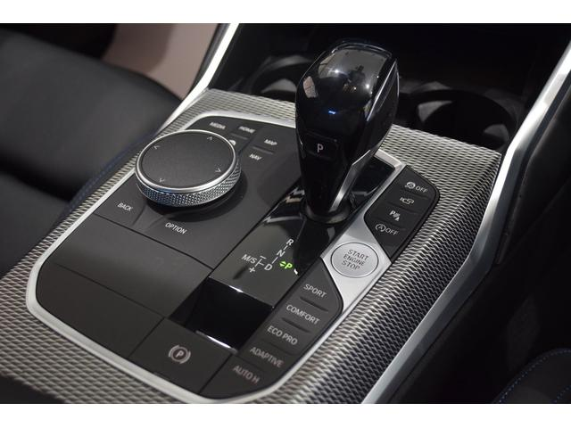 M340i xDrive ブラックレザーシート メモリー付きパワーシート パーキングサポートプラス 全周囲カメラ ステアリングサポート付きACC 前後PDC リバースアシスト 純正19インチアルミホイール ハーマンカードン(11枚目)