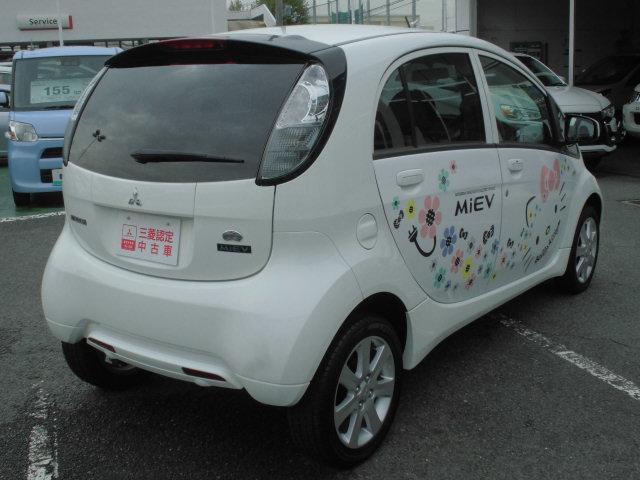 三菱 アイミーブ G 16.0kwh ハローキティーデカール