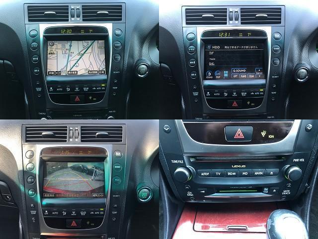 GS350 バージョンI HDDナビ・CD/Mサーバー/ETC・Bモニ・HID・Rフィルム・禁煙車・本革シート・スピンドルエアロ・前席パワーシート・TEIN車高調・19AW・社外ヘッドライト&テール(14枚目)