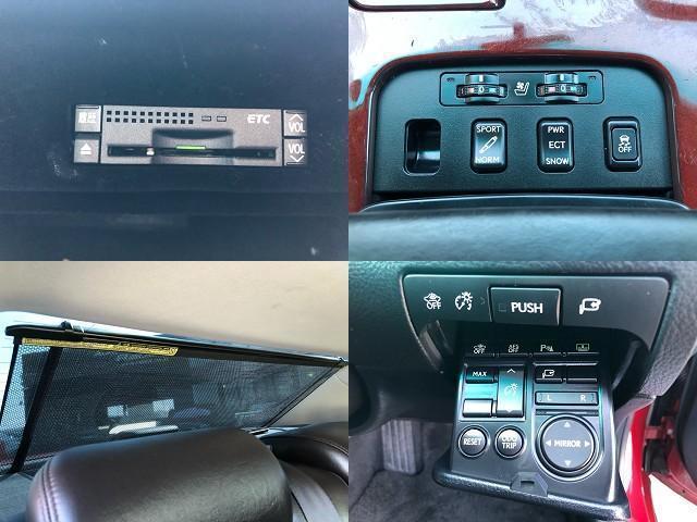 GS350 バージョンI HDDナビ・CD/Mサーバー/ETC・Bモニ・HID・Rフィルム・禁煙車・本革シート・スピンドルエアロ・前席パワーシート・TEIN車高調・19AW・社外ヘッドライト&テール(15枚目)
