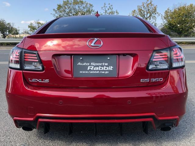 GS350 バージョンI HDDナビ・CD/Mサーバー/ETC・Bモニ・HID・Rフィルム・禁煙車・本革シート・スピンドルエアロ・前席パワーシート・TEIN車高調・19AW・社外ヘッドライト&テール(24枚目)