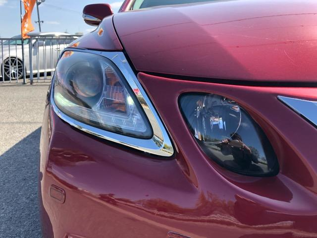 GS350 バージョンI HDDナビ・CD/Mサーバー/ETC・Bモニ・HID・Rフィルム・禁煙車・本革シート・スピンドルエアロ・前席パワーシート・TEIN車高調・19AW・社外ヘッドライト&テール(34枚目)