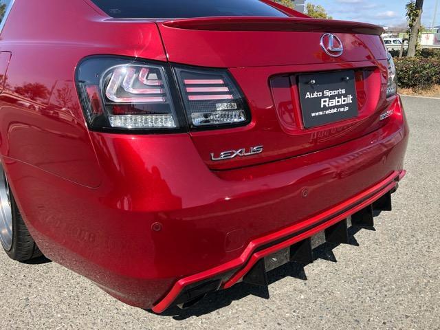 GS350 バージョンI HDDナビ・CD/Mサーバー/ETC・Bモニ・HID・Rフィルム・禁煙車・本革シート・スピンドルエアロ・前席パワーシート・TEIN車高調・19AW・社外ヘッドライト&テール(37枚目)