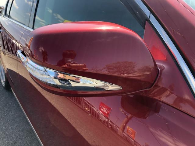 GS350 バージョンI HDDナビ・CD/Mサーバー/ETC・Bモニ・HID・Rフィルム・禁煙車・本革シート・スピンドルエアロ・前席パワーシート・TEIN車高調・19AW・社外ヘッドライト&テール(43枚目)