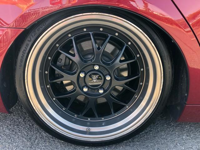 GS350 バージョンI HDDナビ・CD/Mサーバー/ETC・Bモニ・HID・Rフィルム・禁煙車・本革シート・スピンドルエアロ・前席パワーシート・TEIN車高調・19AW・社外ヘッドライト&テール(46枚目)