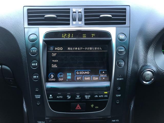 GS350 バージョンI HDDナビ・CD/Mサーバー/ETC・Bモニ・HID・Rフィルム・禁煙車・本革シート・スピンドルエアロ・前席パワーシート・TEIN車高調・19AW・社外ヘッドライト&テール(62枚目)