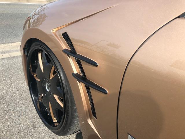 350GTスポーツパッケージ キーレス・前席パーワーシート・D席メモリーシート・HID・Rフィルム・クラブリネア20AW・フルタップ車高調・K-ブレイクフルエアロ・社外フェンダー・ルーフブラック・マフラー(39枚目)