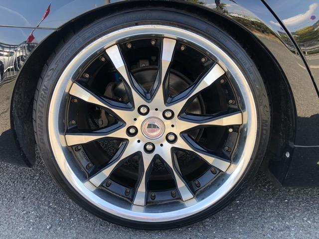 250G Lパッケージ パワーシート・HDDナビ・CD/DVD/フルセグ・ETC・HID・天井大型イルミ・禁煙車・ワークシュバート19AW・フルタップ車高調・本革シート・Rフィルム・ウインカーミラー・イオンクラスター(43枚目)