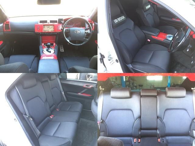 トヨタ マークX 250G SパッケージLDJフルエアロカスタム スマートキー