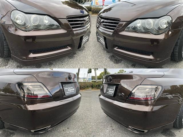 250G HDDナビ・WORKエモーション18AW・フルタップ車高調・専用シートカバー・ルーフブラック・HDDナビ・CD/DVD/Bトゥース/フルセグ・加工ヘッドライト・社外ファイバーテール・ETC・HID(5枚目)