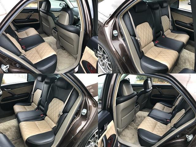 250G HDDナビ・WORKエモーション18AW・フルタップ車高調・専用シートカバー・ルーフブラック・HDDナビ・CD/DVD/Bトゥース/フルセグ・加工ヘッドライト・社外ファイバーテール・ETC・HID(11枚目)