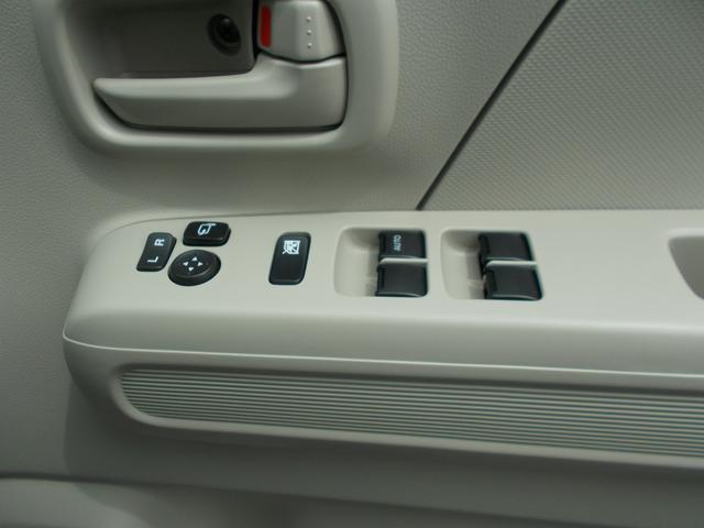 電動格納式ドアミラー、パワーウインドウのメインスイッチです。