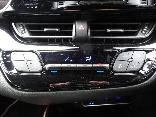 運転席、助手席それぞれで温度設定できるので、お互いに快適な温度が設定できます。
