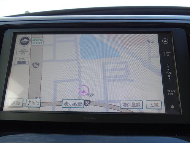 使いやすいトヨタ純正メモリーナビを装着!ワンセグTV/CD/SD/Bluetoothに対応しております。