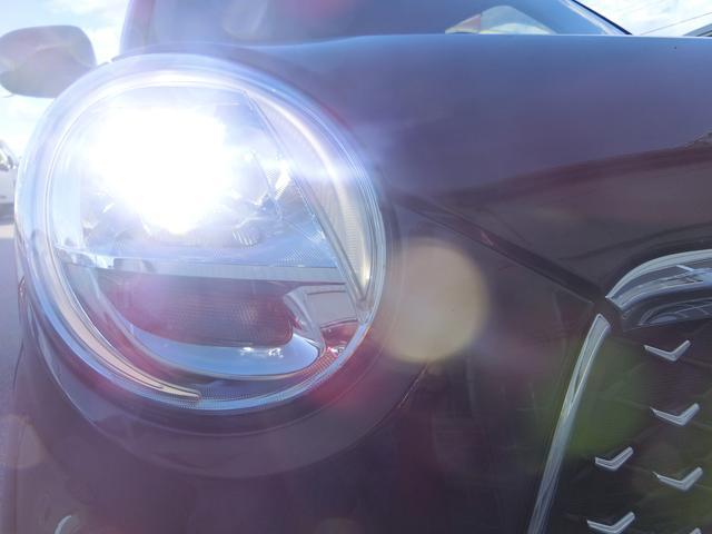 明るいLEDヘッドライト装備!