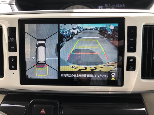 GメイクアップSA2 8インチナビ ドラレコ パノラマカメラ 追突被害軽減ブレーキ スマアシ2 ブラックインテリア 純正ナビ 地デジ DVD再生 Bluetooth対応 パノラマカメラ ナビ連動ドラレコ 両側電動スライドドア(59枚目)