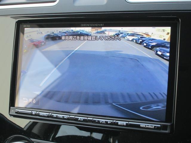 バックカメラも装備しております。車庫入れの苦手な方をばっちりとサポートします。