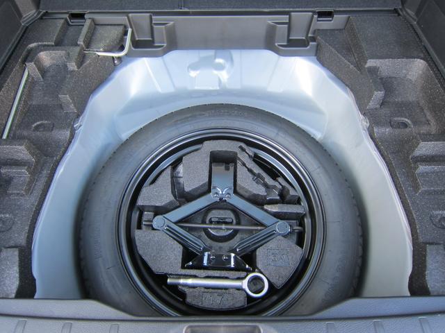 応急用タイヤや工具類