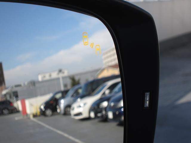 リアビークルディティクション。後方から接近する車両を検知し、ドアミラーのインジケーターにて注意喚起します