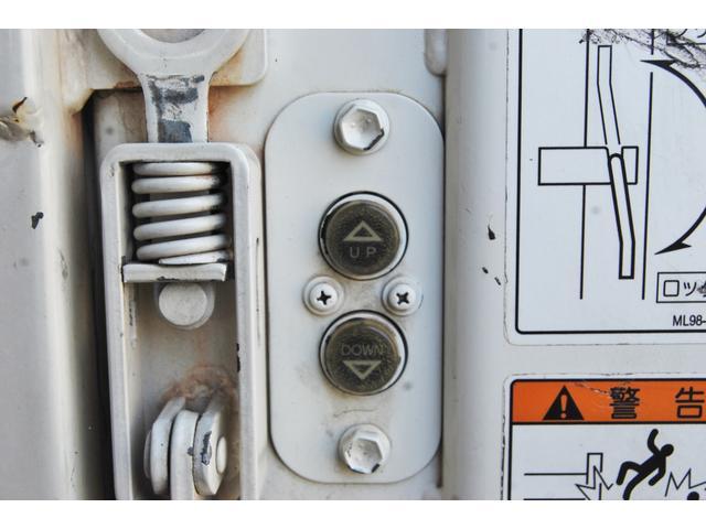 Wキャブ 600kg昇降PWゲート 1.05T 整備記録簿5枚 前後PW キーレス ETC 後Wタイヤ 排ガス浄化装置スイッチ装着車 荷台鉄板張り(8枚目)