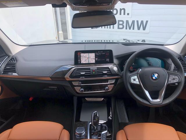 xDrive 20i Xライン ハイラインパッケージ 後期モデル・メーター液晶・コニャックレザー・純正19インチアルミ・アクティブクルーズコントロール・シートヒーター・LEDヘッドライト・全周囲カメラ・純正HDDナビ・地デジ・衝突軽減ブレーキ・G01(2枚目)