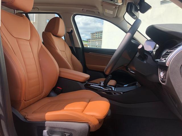 xDrive 20i Xライン ハイラインパッケージ 後期モデル・メーター液晶・コニャックレザー・純正19インチアルミ・アクティブクルーズコントロール・シートヒーター・LEDヘッドライト・全周囲カメラ・純正HDDナビ・地デジ・衝突軽減ブレーキ・G01(13枚目)