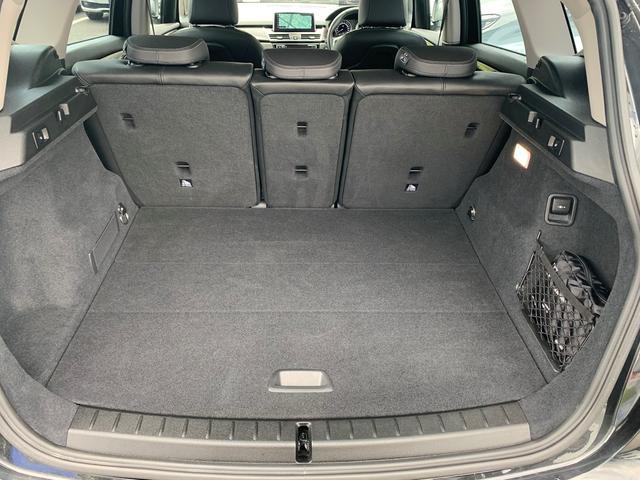 218dアクティブツアラー ラグジュアリー 認定保証・黒革・シートヒーター・アドバンスドアクティブセーフティPKG・ヘッドアップディスプレイ・コンフォートPKG・電動リアゲート・メモリ付電動シート・Pサポート・純正ナビ・BluetoothF45(18枚目)