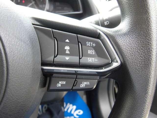 前方車両追従レーダークルーズ 車間を一定に保ちながら速度を維持し運転をアシスト