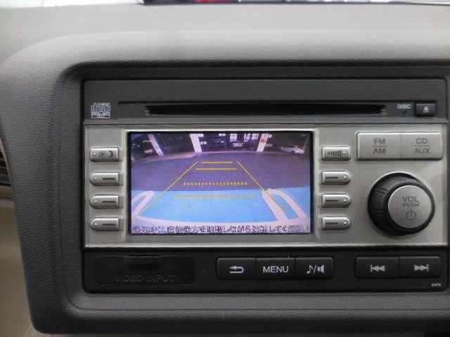 オーディオモニターは、バックカメラとしてもお使い頂ける優れものですので、バック駐車の苦手な方でもお手の物ですね◎