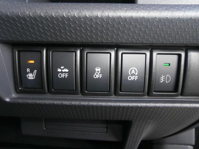 安全装備には衝突被害軽減ブレーキや横滑り防止装置付きで安心です。シートヒーター機能もあり快適です。