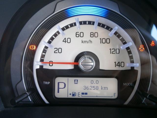 見易いメーターパネルで燃費等のインフォメーションをディスプレイに表示が出来ます。