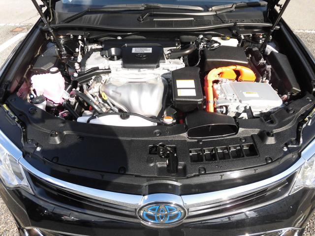 トヨタ カムリ ハイブリッド レザーP  メーカーSDナビ 衝突軽減ブレーキ