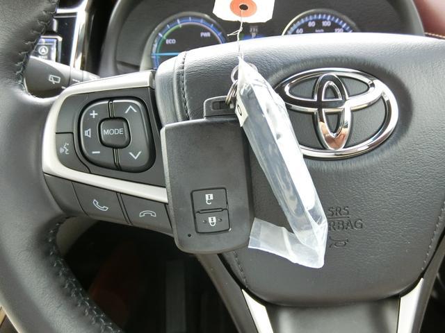 トヨタ ハリアーハイブリッド エレガンス 外品SDナビ フルセグ バックモニター LED