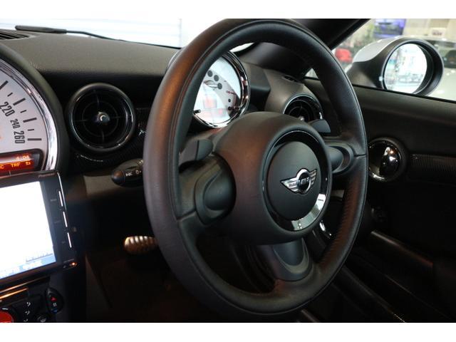 クーパーS クーペ ワンオーナー 禁煙車 キセノン オプション16インチアルミ カロッツェリアナビ・地デジTV 可動式リアウイング ドライブレコーダー(13枚目)