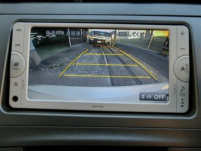 【バックモニター】普段の駐車はもちろん車輪止めのない駐車場や後ろギリギリに駐車しないといけない時の障害物の確認などには特に役立ちますよ