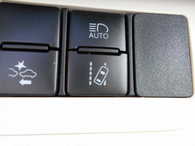 LDA(車線逸脱警報)付きではみ出し防止。安心機能!(補助装置です)