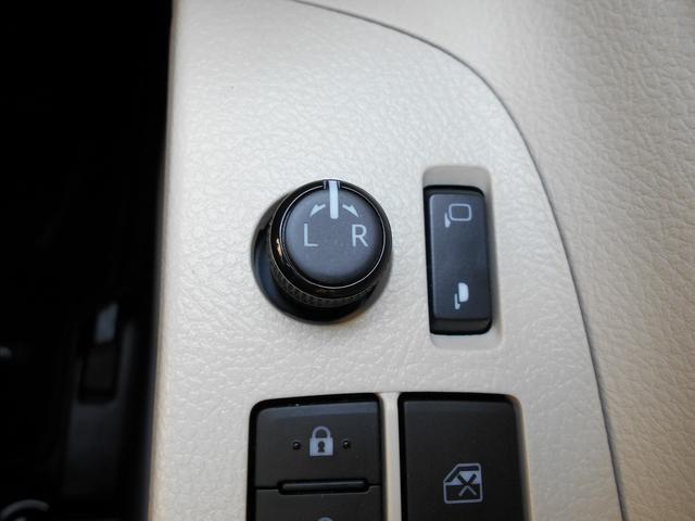 電動格納式ドアミラー付きで開閉もワンタッチ。狭い道路でのすれ違いでも役立ちます!