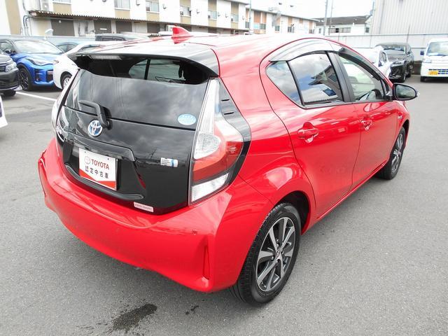 「トヨタ」「アクア」「コンパクトカー」「京都府」の中古車3