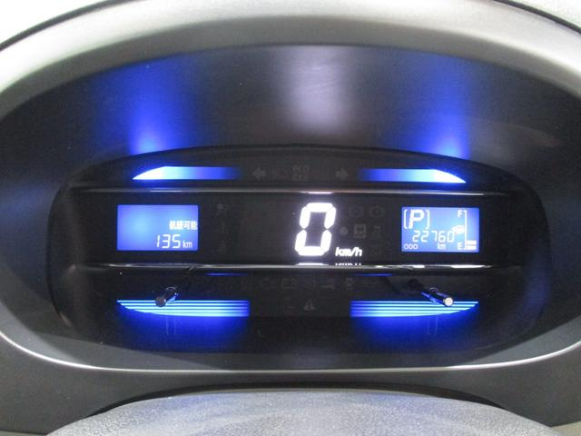 近未来を彷彿させるデジタル式のスピードメーター☆