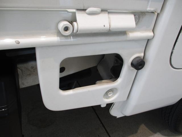 スタンダード 4WD 5速ミッション車 タイミングチェーン パートタイム4WD 5速ミッション車 車検整備付き 走行距離52,900km台 エアコン パワステ バッテリーカバー ゲートプロテクター(31枚目)