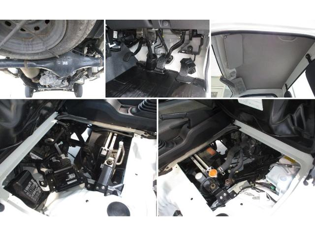 スタンダード 4WD 5速ミッション タイミングチェーン パートタイム4WD 車検整備付き 5速ミッション車 バッテリーカバー エアコン パワステ エアバッグ テールゲートチェーン ゲートプロテクター 走行距離26,300km台(20枚目)