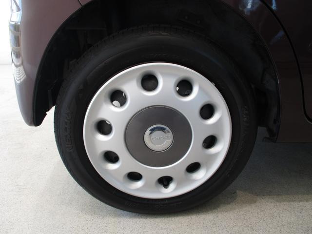 ココアプラスX 車検整備付 タイミングチェーン ベンチシート キーフリーシステム オートエアコン フロントフォグライト ルーフレール 走行距離55700km台 CD/MDチューナー(8枚目)