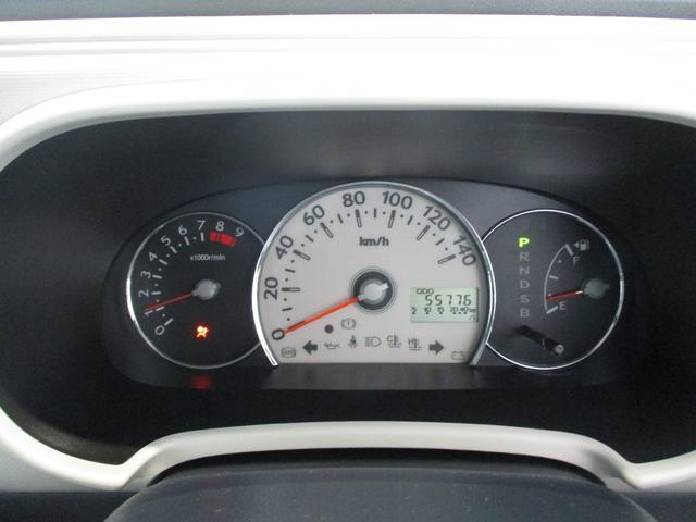 ココアプラスX 車検整備付 タイミングチェーン ベンチシート キーフリーシステム オートエアコン フロントフォグライト ルーフレール 走行距離55700km台 CD/MDチューナー(14枚目)